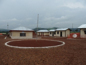 Our camp in the northeastern DR Congo